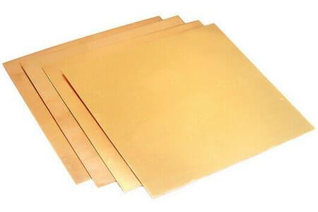 лист бронзовый
