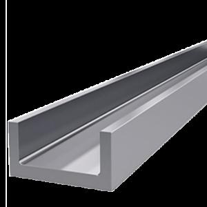 швеллер алюминиевый п образный профиль