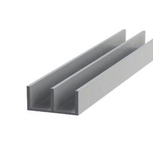 ш алюминиевый швеллер